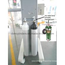 Hospital Aluminum Oxygen Cylinders (Pin Index Type)