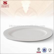 Wholesale Guangzhou vaisselle en porcelaine, plat de porcelaine pas cher