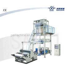 Máquina de película de una sola capa con cabeza rotatoria (CE)