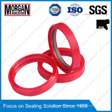 PTFE / NBR Material Tdi Series Anilha hidráulica RAM Rodar anel