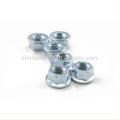 Brida de acero al carbono Brida de zinc azul blanco TUERCA