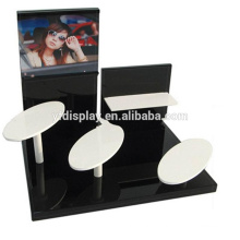 high quality acrylic reading glasses heads up display stands