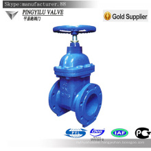 Ductile iron flange non rising stem gate valve made in china