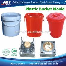 balde plástico usados moldes