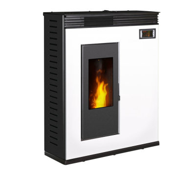Biomass Pellet Stove with Black and White Color