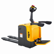 Xilin High Quality 2000KG 2Ton capacity Electric Rider Stand-on Type Platform Pallet Truck