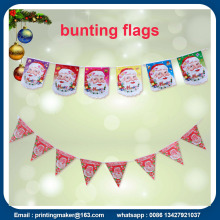 Triangle Flaggor Bunting Banner 10m Run