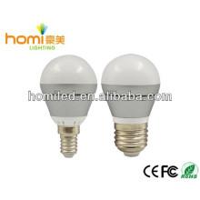 led light bulb,d-casting aluminum, P45 G45, E27, 4W/5w,CE&ROHS