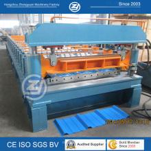 Профилегибочная машина для производства оцинкованной металлической крыши в Китае