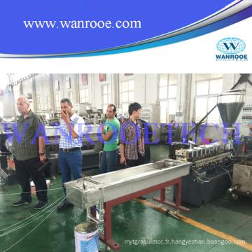 Chaîne de production de granulation de flocons d'animal familier