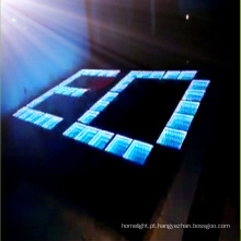 Party, DJ que ilumina o salão de baile do diodo emissor de luz do túnel do tempo do espelho 3D