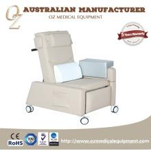Alta calidad australiano aprobado por la CE silla de infusión médica silla de transfusión de sangre sofá de la transfusión