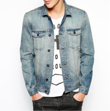 U'sake China Supplier Dongguan Wholesale Denim Jean Jacket for Men S191920