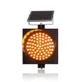 Road Safety 300mm solar amber warning light