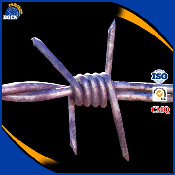 2017 bocn cheap hot dipped galvanized barbed wire