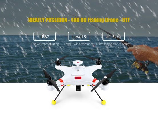 Waterproof Fishing Drone