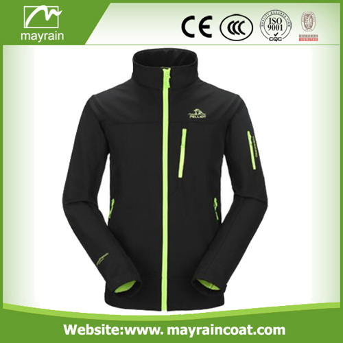 Full Zip Polyester Outdoor Jacket