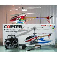 cabo do carregador do usb para o helicóptero rc da liga 3CH do helicóptero do rc com diodo emissor de luz colorido