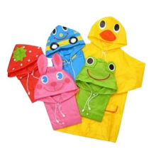 Poncho Raincoat, Made of PVC/PEVA/TPU, Various Colors are Available, with 0.15 to 0.20mm ThicknessNew