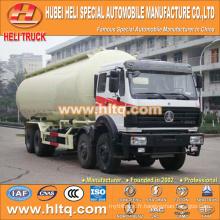 Camion-citerne en poudre en vrac North-Benz 8x4 40M3 usine de vente chaude prix direct 310hp Weichai engine
