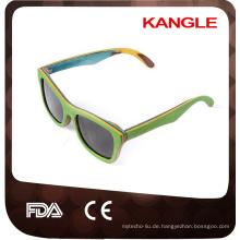 hölzerne Sonnenbrille der Großhandelslaminierungsart