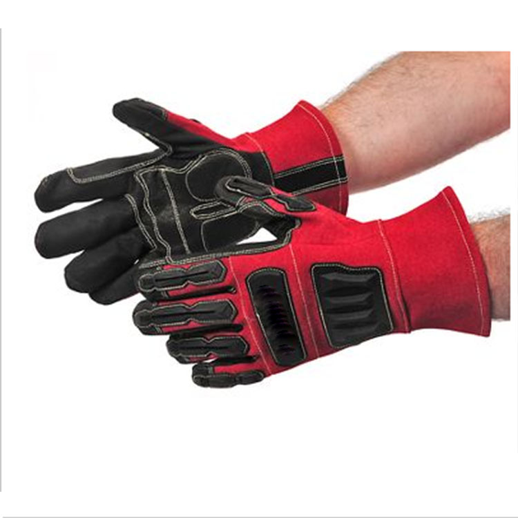Anti Shock Pvc On Gloves