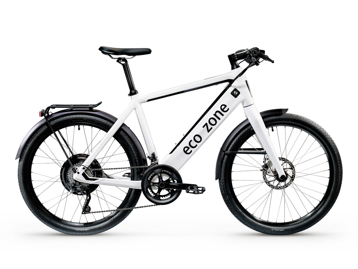 Detachable battery electric bicycle