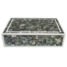 mother of pearl shell storage box plastic storage box