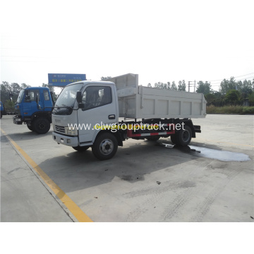 Small self dumper pick up dump truck