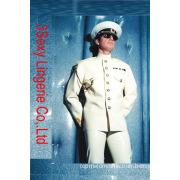 PVC Man Catsuit / Leather Wear / Men's Costume (AL131)