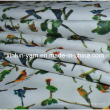 Plain Style and Polyester Spandex Stretch Print Fabric