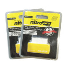 Nitroobd2 Nitro OBD2 Car Chip Tuning OBD2 Nitro OBD2 Yellow for Benzine and Red for Diesel