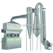 Horizontal Fluidizing Dryer used in maize germ