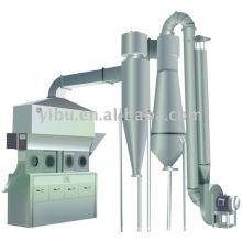 Secador de Fluidização Horizontal usado em germe de milho