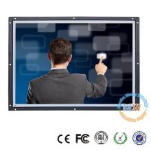 Marco abierto monitor LCD de pantalla táctil de 21.5 pulgadas con puerto USB y RS232 opcional