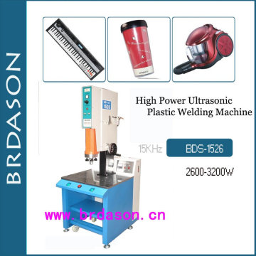 2600W Ultraschall-Kunststoff-Wickelmaschine für Doppelwandbecher