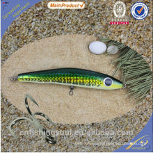 WDL027 16 cm 18 cm 22 cm señuelo de la pesca del palo palo pesca señuelo moldes de pesca de agua salada palo de madera cebo
