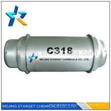 Gaz réfrigérant C318