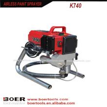 Pulverizador mal ventilado portátil de alta pressão 1.77HP da pintura