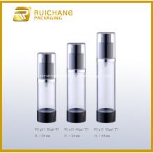 Botella privada de aire de aluminio para cosméticos