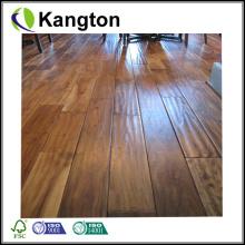 Handscraped Suelo de madera natural de acacia (piso de madera de ingeniería)