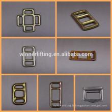 3030 4040 5050 métal forgé boucles de différentes tailles pour la vente