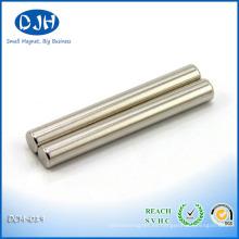 Imán de barra NdFeB de alta potencia N48 para filtro magnético