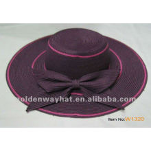 Ladies Summer Trendy Straw Beach Hat