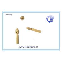 China Las piezas de hardware de cobre amarillo de la alta calidad, TZC723 ajustan el eje