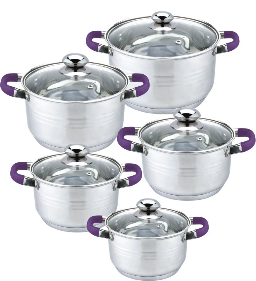 Casserole 10pcs cookware set