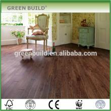 Große Größe Dark Coffee Brown Engineered Eiche Holzboden