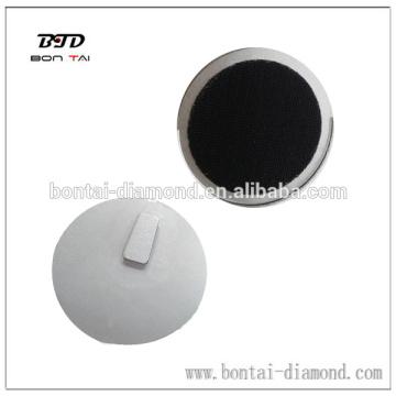 Klettverschluss-Metall-Pads für den Anschluss von Husqvana oder Scanmaskin-Schleifmaschine