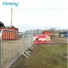 Road Barrier Pedestrian Galvanized Bekas