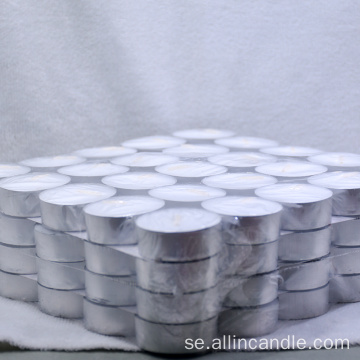 10g White Round Tealight Candle